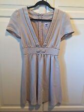 Women's LEMISEE Beige Vintage-Inspired Dress