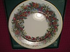 Lenox Christmas Plate 1981 Virginia The First Colony Boxed