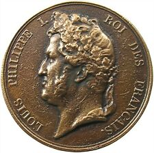 FRANCE MEDAL LOUIS PHILIPPE I. 50MM 56G #p53 073