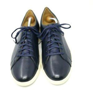 """Cloe Haan """"Crosscourt II"""" Navy Blue Sneakers 12D $150 BRAND NEW! NR"""