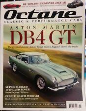 OCTANE WATCH DB4 GT De Tomaso Designer Jaguar Ferrari Nov 2014 FREE SHIPPING
