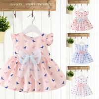 Infant Kid Baby Newborn Toddler Girls Party Summer Clothes Casual Princess Dress
