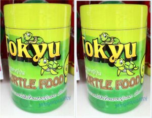 2 x TOKYU Turtle Floating Food High Natural Calcium Vitamin to Strengthen Shell