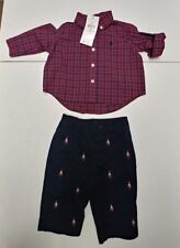 Boy's Ralph Lauren 2pc Outfit Size 3ms NWT