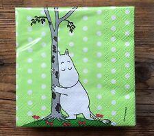 Moomin paper napkins, 25x25cm, 20 counts, Moomintroll Finland