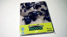 Shaun the Sheep The Movie Blu-ray Zavvi Exclusive Steelbook | Aardman | LIKE NEW