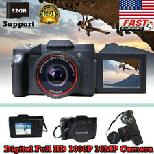 Digital Camera Video Camcorder Vlogging Full HD 1080P 16MP for YouTube Camera