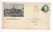 1899 Hightstown New Jersey, Advertising, Peddie Institute, School, Stationery En