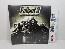 """Inon Zur Fallout 3 Soundtrack COLOR Vinyl 12"""" LP Vault Boy Rare@100 Spacelab9"""