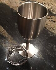 YETI Style Stainless Steel Insulated TRUE NORTH WINE GLASS