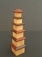 Norm Thompson Pagoda Puzzle Japanese Wooden Toy