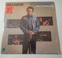 Merle Haggard Okie From Muskogee Vinyl SHRINK LP Capitol ST-384 VG+ /VG+
