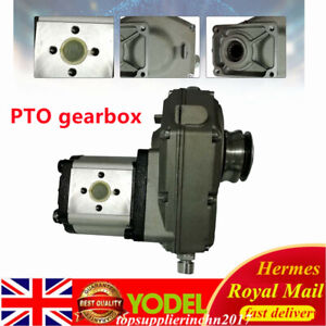 Agricultural Hydraulic Tractor PTO Gearbox Pump Transmission 1:3 Ratio 540rpm UK