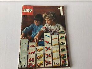 Lego 221,Buch,Bauanleitungen,70er,alt,Ideenbuch