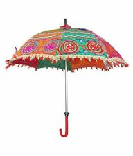 1Pc Decorative Umbrella Sun Parasol traditional methods Rajasthani Artworks KKSM