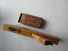 2 alte Tischler Werkzeuge von ULMIA, 1 Hobel und 1 Abstreifer