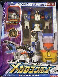 Takara Transformers GC-23 MEGALO CONVOY Cybertron Galaxy Force Metroplex