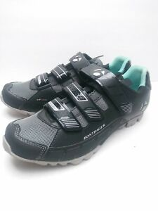 Bontrager Womens Sz 9.5  EVO MTB WSD Mountain Bike Shoes Black Nice Worn once