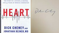 Dick Cheney Signed 2013 Heart Hardcover Book PREMIERE