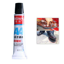 20g Rubber All Purpose Adhesive Glue Shoe Repair Cares Strong Bond Leather Hot
