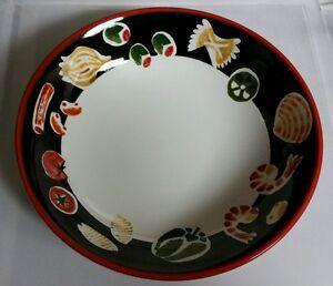 "WOLFGANG PUCK Live, Love, Eat 11 1/4"" Salad Pasta Seafood Serving Bowl"