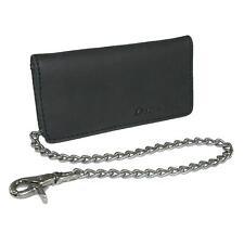 New Dickies Men's Leather Trucker Chain Wallet