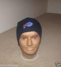 Buffalo Bills Reebok Football NFL Blue Knit Hat Beanie Style New FREE SHIPPING