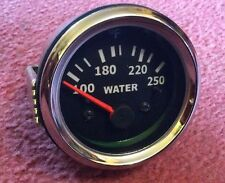 NEW TEMPERATURE GAUGE  52 Mm , Triumph, MG , Scimitar , Kit car. Project