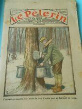 Comment on recueille au Canada le sirop d'érable  Print 1934