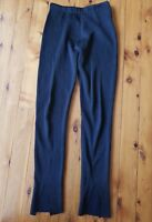 ZARA Knit Black with Metallic Sparkle Stretch Knit Pants Size EUR M
