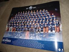 100 GREATEST TORONTO MAPLE LEAFS HOCKEY POSTER CANADIAN TIRE 100TH ANNIVERSARY *