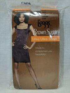 L'eggs Brown Sugar Regular Pantyhose, Coffee 50285, Tall, Sheer Toe, Ultra Ul...