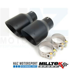 Milltek Exhaust CatBack GT100 Black Cerakote Tips Golf Mk6 R/R20 GTI Edition 35