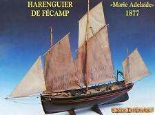 "Beautiful, brand new wooden model ship kit by Soclaine: the ""Marie Adelaide"""