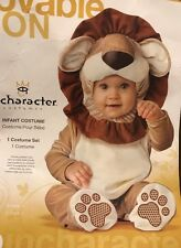 Lovable Lion Costume Infant Medium (12-18 Months) Free Shipping!