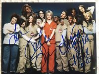 """Orange Is The New Black"" 8 X 10 Four Cast Members Hand Signed COA"