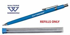 Markal 96007 Silver-Streak Round Metal Marker Refills - Pack 6, For Welding