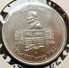 1983 Fort McMurray Alberta $1 Trade Token - Walter Hill