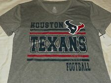 """NEW"" NFL ~ Houston Texans ~ Logo / Football SHIRT Child's Sz XL 14/16 Polyester"