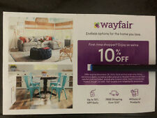 Wayfair Coupon 10% OFF First Order Exp 1/31/2021 Fast Delivery