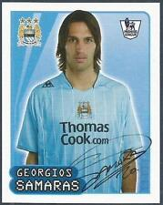 MERLIN-2008-F.A.PREMIER LEAGUE 08- #358-MANCHESTER CITY/GRRECE-GEORGIOS SAMARAS