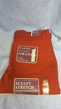 Gloria Vanderbilt Women's Amanda Slim Fitting Jean 6p Petite MAGMA Red