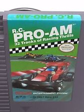 Nintendo Entertainment System NES RC Pro-AM 32 tracks of racing thrills 1987