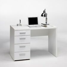 Tvilum Whitman Plus Writing Desk in Contemporary Style White Finish, 8012049 New