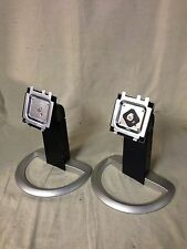 "Dell UltraSharp 1905FP 1901FP 19"" LCD Monitor Base stand ** ( LOT of 2 ) **"