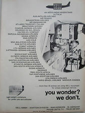 5/1969 PUB SELL EQUIPMENT PASSENGER SERVICE AIRLINES PIA TAP SAA SAS MEA KLM AD