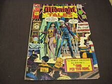 "CHARLTON COMICS MIDNIGHT TALES ""ONE FOR THE DEVIL"" VOL 2 NO 5 SEPTEMBER 1973"
