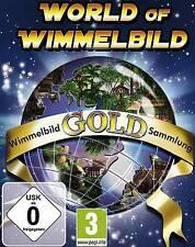 WORLD OF WIMMELBILD GOLD 4 Spiele 1 Preis BRANDNEU