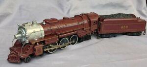 Lionel 6-8101Chicago & Alton 4-6-4 Die-Cast Steam Locomotive & Tender