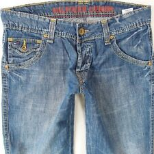 Mens Tommy Hilfiger KEITH Straight Leg Relaxed Fit Mid Blue Jeans W32 L30